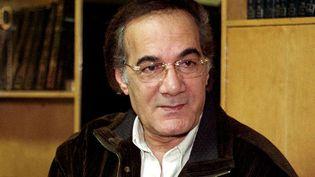 L'acteur égyptien Mahmoud Yassine le 10 décembre 2001, chez lui, à Gizeh, près du Caire (AMRO MARAGHI / AFP)
