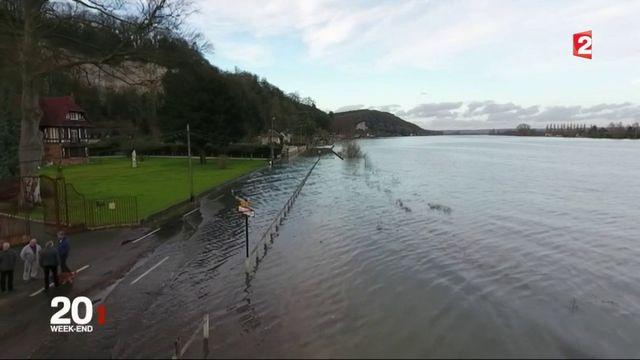 Inondations : la Seine en proie à une crue