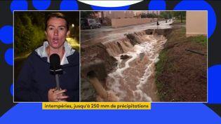 Intempéries : après les pluies diluviennes, l'heure est au bilan dans le Sud-Est (FRANCEINFO)
