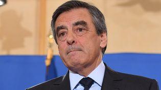 François Fillon, le 27 novembre 2016 à Paris. (CHRIS NAIL / ANADOLU AGENCY / AFP)
