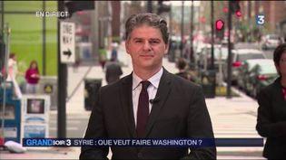 Jacques Cardoze, correspondant de France Télévisions à Washington. (FRANCE 3)
