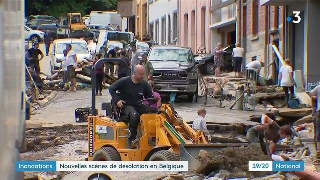 Belgique : de nouveaux orages frappent dans la province de Namur