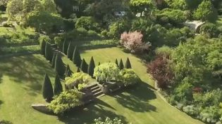 Le jardin d'Odile Masquelier, situé à La Mulatière (Rhône). (FRANCE 2)