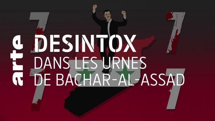 Désintox. Syrie : la participation des votants à l'élection de Bachar Al-Assad n'a pas pu être aussi importante qu'annoncé (ARTE/2P2L)
