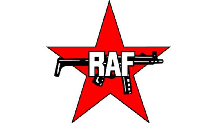 Logo de la Fraction armée rouge ( RAF, Rote Armee Fraktion ) (Photo Wikimedia commons)