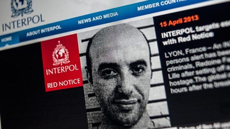 (Redoine Faïd avait fait l'objet d'un avis de recherche d'Interpol © maxPPP)