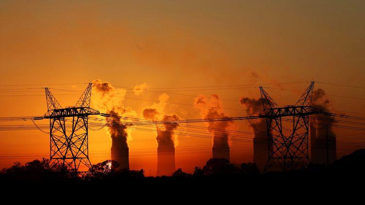 La centrale électrique de Lethabo fonctionne au charbon. (SIPHIWE SIBEKO / Reuters)