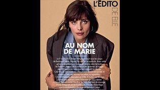 """Edito du magazine Elle """"Au nom de Marie"""", octobre 2017  (Elle)"""