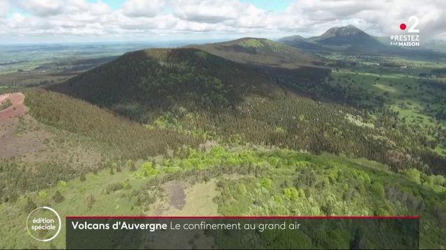 Auvergne : un confinement au grand air aux pieds des volcans