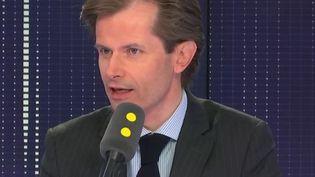 Guillaume Larrivé, secrétaire général délégué des Républicains, député de l'Yonne, invité de franceinfo le 11 septembre 2018. (RADIO FRANCE / FRANCE INFO)