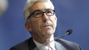 Benoît Vallet, directeur général de la santé, le 5 juillet 2017. (THOMAS SAMSON / AFP)