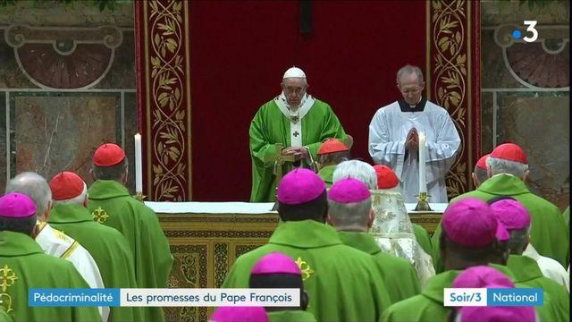 Pédophilie dans l'Eglise : le pape François déçoit les victimes