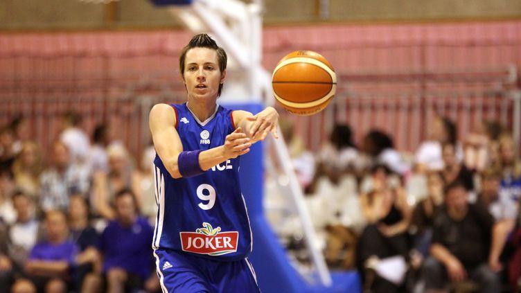 Céline Dumerc, l'un des piliers de la victoire des Bleues ce soir. (CITIZENSIDE/THIERRY THOREL / CITIZENSIDE.COM)