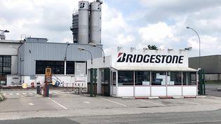L'usine de pneumatiques Bridgestone à Béthune (Pas-de-Calais) (EMMANUEL BOUIN / FRANCE BLEU NORD)