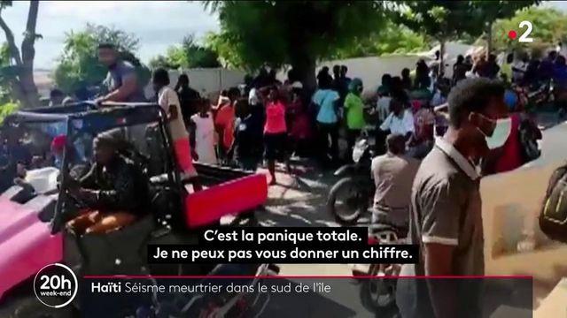 Haïti : un séisme meurtrier fait des dégâts au sud-ouest de l'île