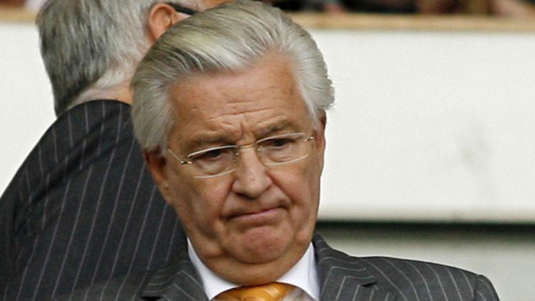 L'ex-président de West Ham Bjorgolfur Gudmundsson (IAN KINGTON / AFP FILES)