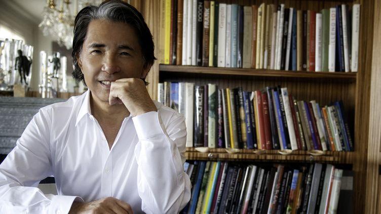 Le styliste Kenzo Takada à Paris  (Christophe Marot)