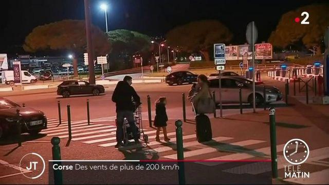 La tempête Ciara frappe la Corse