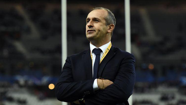 Le sélectionneur du XV de France, Philippe Saint-André