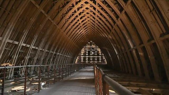 La reconstruction de la cathédrale de Reims