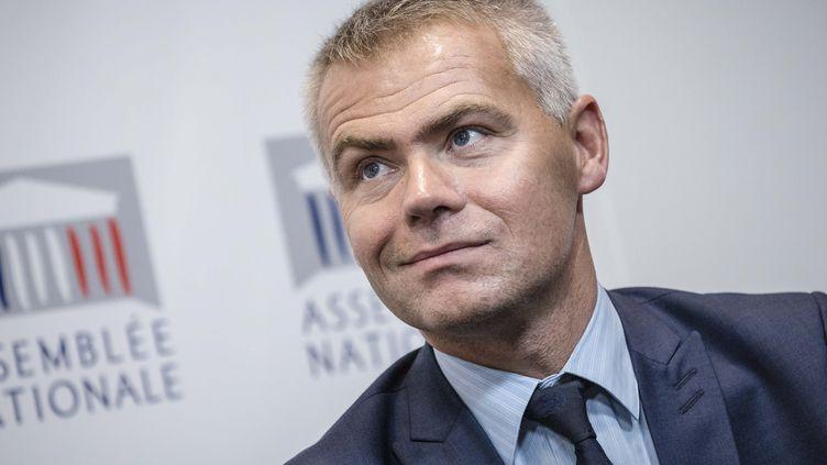 Christophe Bouillon, député Nouvelle Gauche de Seine-Maritime, maire honoraire deCanteleuet président de l'Association des petites villes de France (MARLENE AWAAD / MAXPPP)