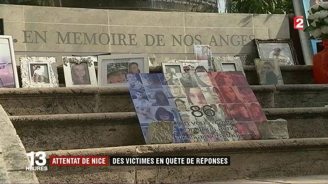 Attentat de Nice : des victimes en quête de réponses