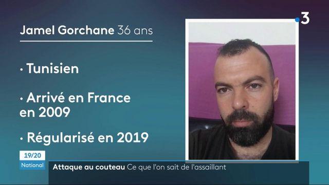 Attaque au couteau à Rambouillet : le profil de l'assaillant, Jamel Gorchane, se précise