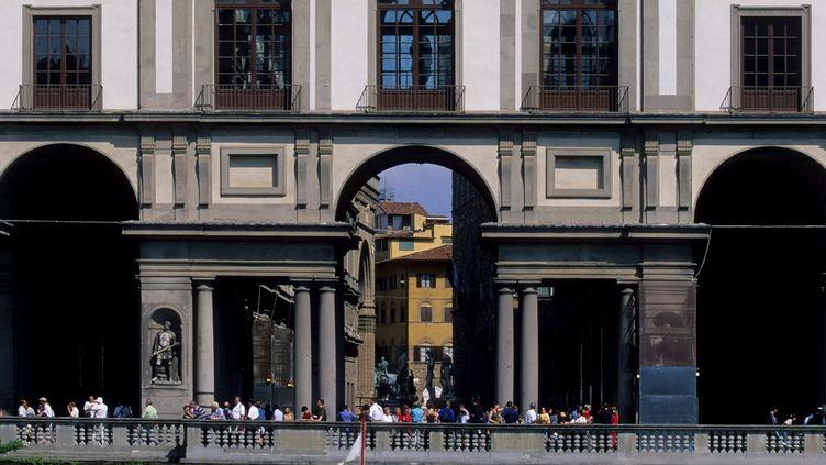 La Galerie des Offices à Florence en Italie  (Photo12 / Gilles Targat)