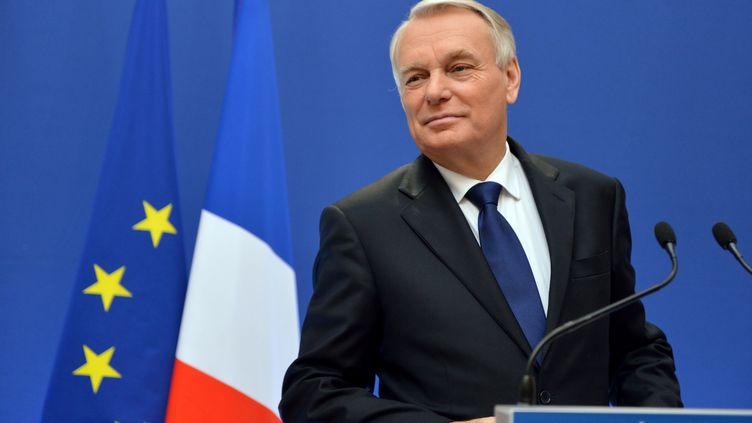 Jean-Marc Ayrault a annoncé mardi 6 novembre les principales mesures de son pacte de compétitivité. (ERIC FEFERBERG / AFP)