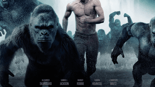 """L'affiche du film """"Tarzan"""" sorti le 6 juillet sur les écrans en France. (WARNER BROS. FRANCE)"""