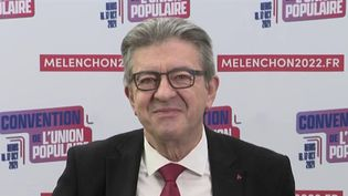 """Présidentielle 2022 : """"le débat est dominé par des questions qui n'ont pas de sens"""", selon Jean-Luc Mélenchon (FRANCE 2)"""