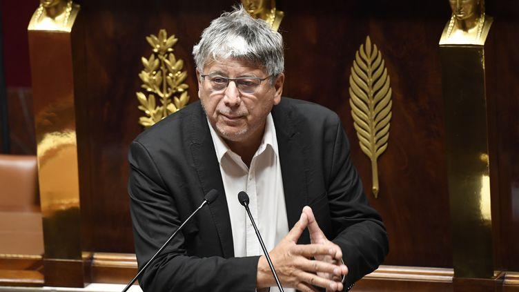 Eric Coquerel, député La France insoumise, à l'Assemblée nationale, le 12 octobre 2020. (BERTRAND GUAY / AFP)