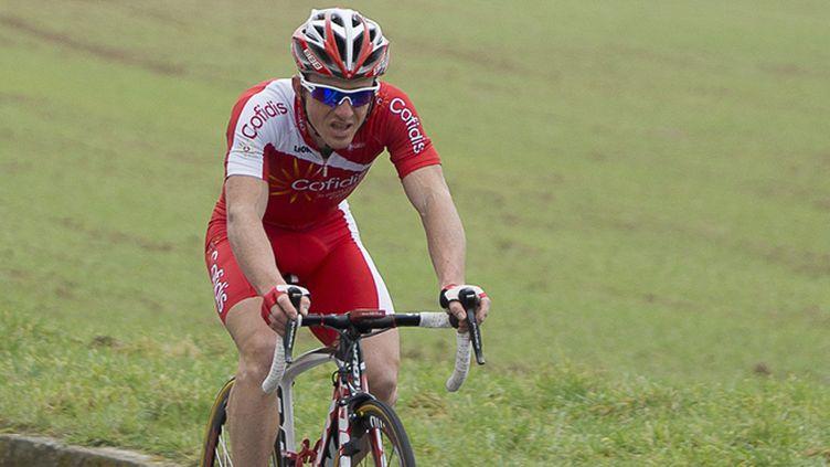 Samuel Dumoulin, rouleur-sprinteur de la Cofidis (ERIC BALEDENT / MAXPPP)