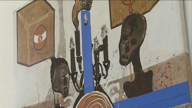 Le peintre Ouattara Watts expose en Haute-Vienne