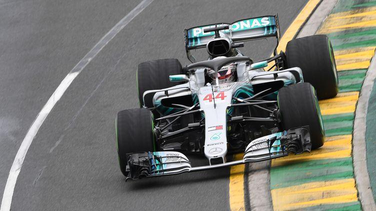 Lewis Hamilton est déjà le patron (WILLIAM WEST / AFP)
