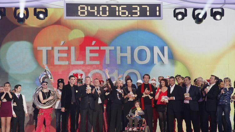Le Téléthon recueillie à lui seul 3% des dons annuels des Français. (THOMAS SAMSON /AFP PHOTO)