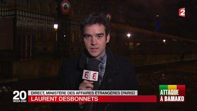 Attaque à Bamako : les autorités françaises conseillent à ses ressortissants de ne pas sortir
