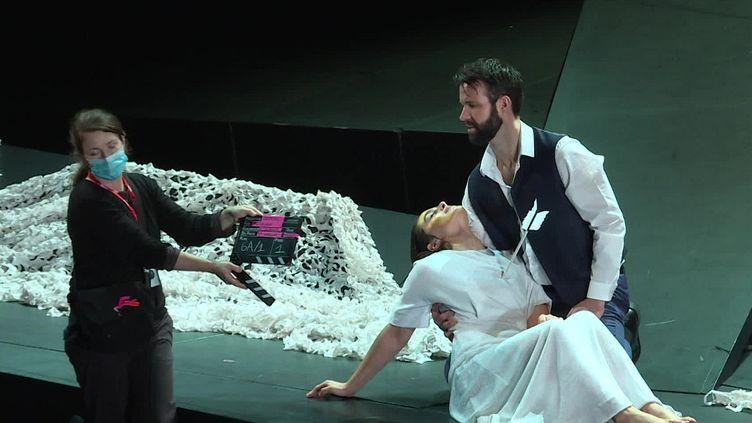"""Tournage du film opéra """"Rusalka"""" à Limoges. (FRANCEINFO)"""