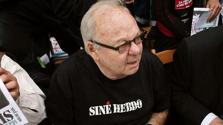 Le dessinateur Siné, ici en 2010.  (FRANCOIS LAFITE/WOSTOK PRESS/MAXPPP)