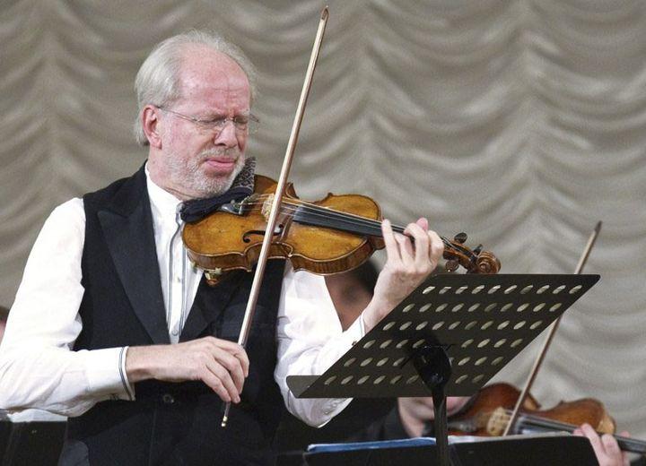 Le directeur artistique et solisteGidon Kremer  (Vitaliy Belousov / RIA Novosti)