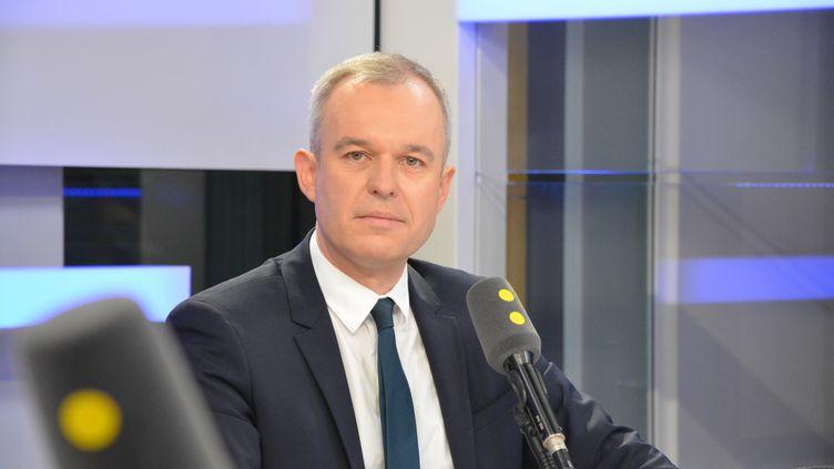 François de Rugy, député Vert de Loire-Atlantique. (RADIO FRANCE / JEAN-CHRISTOPHE BOURDILLAT)