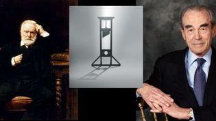 """Dans l'opéra """"Claude"""", Robert Badinter, auteur du livret, poursuit le combat de Victor Hugo contre la peine capitale  (Bonnat (Victor Hugo) CATHERINE GUGELMANN (Robert Badinter))"""