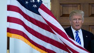 Le président élu des Etats-Unis, Donald Trump dans le New Jersey, le 19 novembre 2016. (DREW ANGERER / GETTY IMAGES NORTH AMERICA)