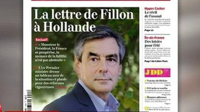 La lettre ouverte de François Fillon à François Hollande