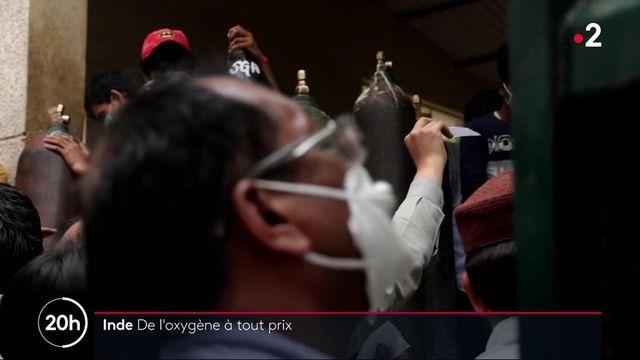 Urgence sanitaire : l'Inde manque d'oxygène