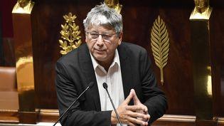 Eric Coquerel, député insoumis de Seine-Saint-Denis,le 12 octobre 2020, à l'Assemblée nationale. (BERTRAND GUAY / AFP)