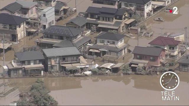 Japon : 100 morts et des centaines de disparus après des pluies torrentielles