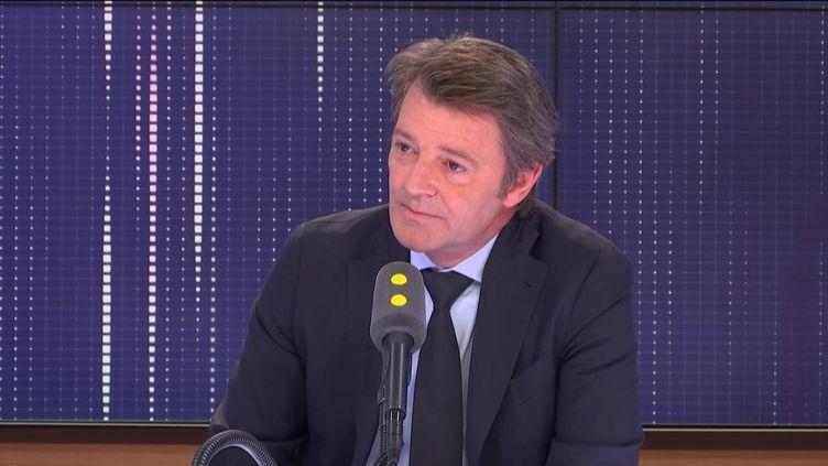 François Baroin était l'invité de franceinfo lundi 8 juillet. (FRANCEINFO / RADIOFRANCE)
