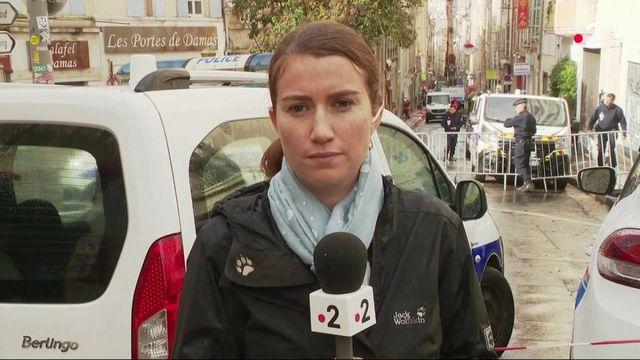 Marseille : la difficile tâche des secouristes