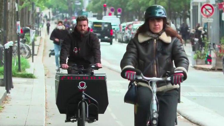 Transport : le succès du vélo-cargo (France 2)